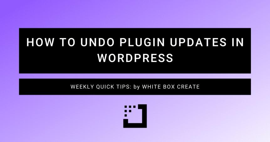 how-to-undo-plugin-updates-in-wordpress